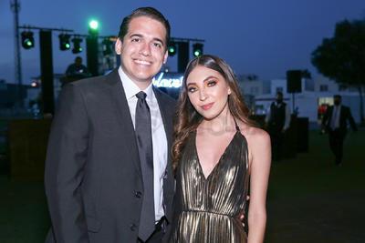 Jorge Torres y Sofía Páez.