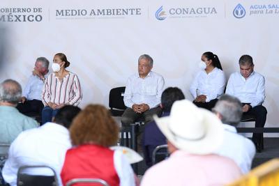 López Obrador condiciona proyecto de Agua Saludable para La Laguna a retiro de amparos, de lo contrario se cancela