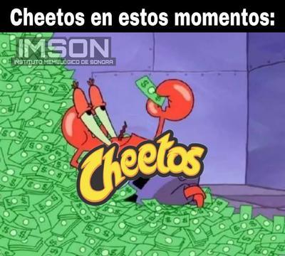 ¿Cuáles son los Cheetos originales? Debaten con memes en redes sociales