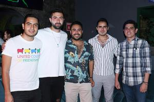 13082021 Francisco, Gerardo, Hugo, Michael y Sergio.
