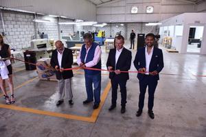 14082021 Scherzer festeja el crecimiento de la empresa con la inauguración de una nueva planta en la ciudad, respaldada por sus 26 años de experiencia.
