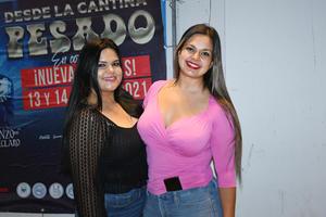 16082021  Carolina Cardona y Thirsa Rivas.