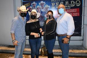 16082021  Alex Mota, Mariana Lara, Angelica Espinoza y Ricardo García.