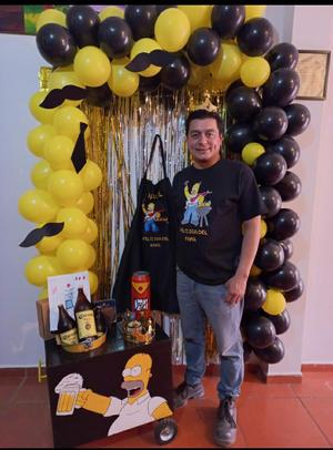 16082021 Festejo deRaúl Estrada por sus 43 años de vida con toda su familia.