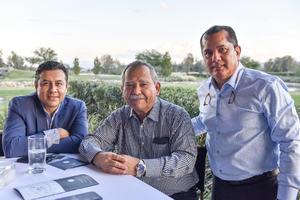 14082021 Daniel Almaraz, Raúl Verano y Francisco Javier Lira.