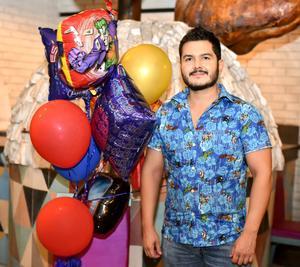 15082021 Aldo Magallanes celebró su cumpleaños el pasado 4 de agosto en compañía de sus seres queridos.