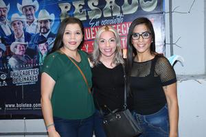 16082021  Karina Aparicio, Xóchitl Cepeda y Patricia Aparicio.