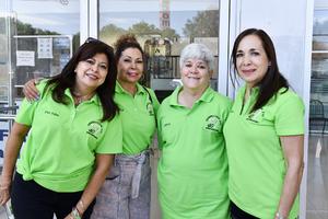23082021 Rosa Elena Ortiz, Rebeca López,Amaya Belausteguigoytia y María Elena Valencia.