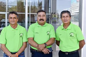 23082021 José Antonio Adame,Hugo Froro y Rafael Llanas.
