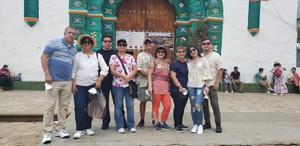 23082021 De visita en San Juan Chamula, Chiapas; Álvaro, Marycarmen, Rogelio, Carmen, Antonio, Angélica, Myrna, Myrna Leticia, y Óscar.
