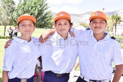 Leonardo Nahle, Roberto Guajardo y Marcel Soto.