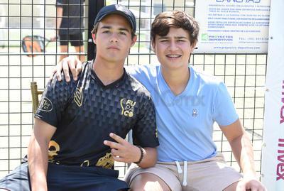 Andrés Burillo y Gabriel Ávalos.