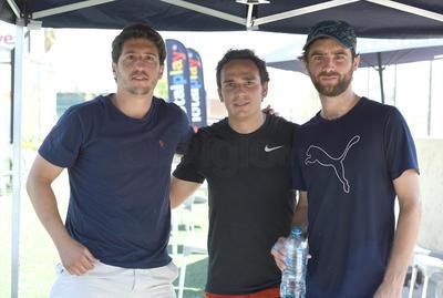 Hugo, Pablo y Antonio.