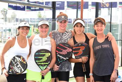 Ana Lía, Bárbara, Blanca, Margarita y Wera.