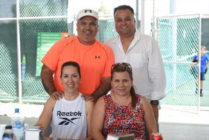 26082021 Jorge Chaul, Norma Chaul, Claudia Madrazo y Sergio Madrazo.