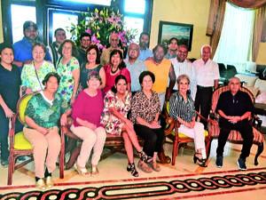 29082021 Grupo amistad reunido en desayuno mensual.