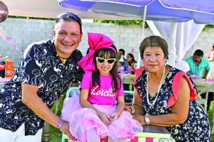 29082021 Gerardo Alba, Loretta y Rosa Alba.