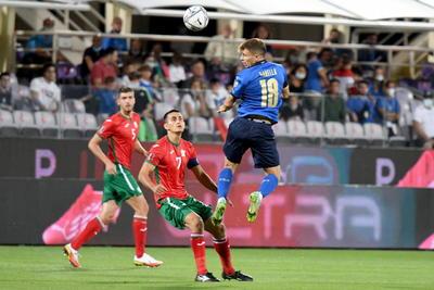 Italia iguala con Bulgaria en eliminatorias mundialistas