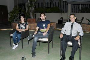 03092021 Margarita Valenzuela, Andrés Rayas y Julio Pero.