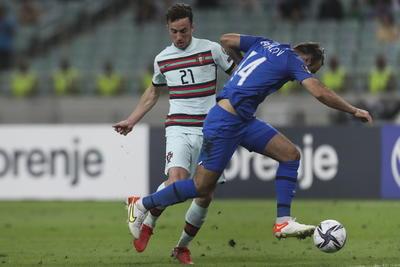 Sin Cristiano Ronaldo, Portugal vence a Azerbaiyán en las eliminatorias mundialistas