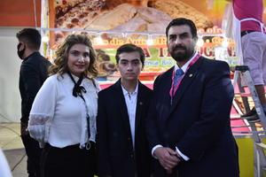 04092021 Fabiola Hernández, Manuel Ramos y Antonio Chapa.