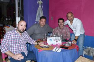 06092021 Alberto, Rogelio, Gustavo y Mario.