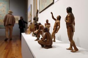 04092021 EXPOSICIÓN.  Una muestra artística que narra la historia de los pueblos mexicanos y el despojo de la cultura a manos de la invasión española.