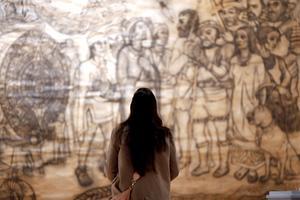 04092021 La muestra dio inicio tras la conmemoración de los 500 años de Resistencia Indígena.