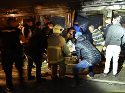 Hospital COVID-19 de Macedonia arde en llamas