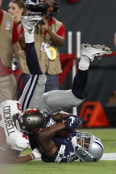 Tom Brady y los campeones Bucs debutan superando a Cowboys