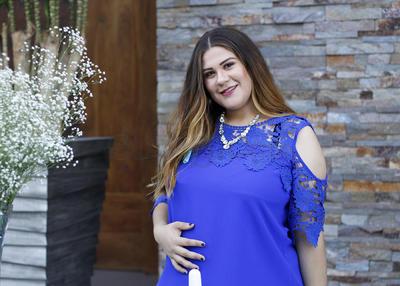 BABY SHOWER. Valeria Aguiñaga se prepara para recibir a Mateo