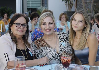 Bertha, Mirthala y Ángela