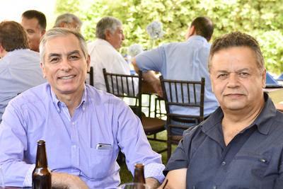 Luis Velasco y Luis Urteaga