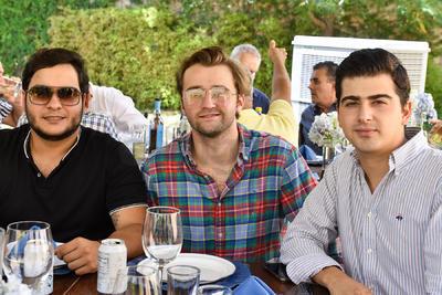 Rafael Martínez, Roberto Martínez y Eduardo Colores
