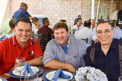 Iván, José Ángel y José Manuel