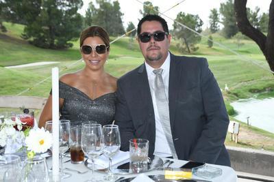 Carolina Corona y Javier Gallegos