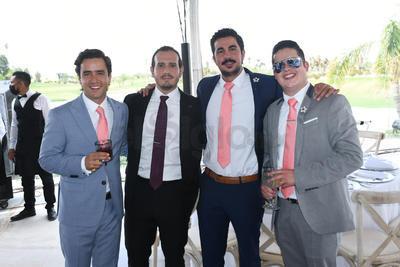 Gerardo, Ricardo, Juanca y Roberto