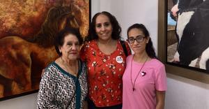 10092021 Lucía Juárez, Lucía Sánchez y Ale Arias.