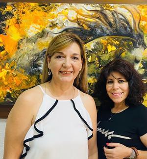 10092021 Maru Torres y María García.