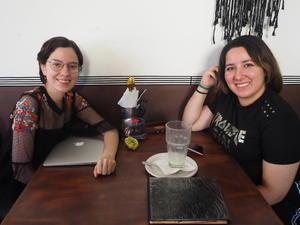 09092021 Marcela Macías y Karla Rodríguez.