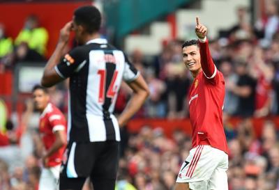Cristiano vive su segunda etapa con Manchester United