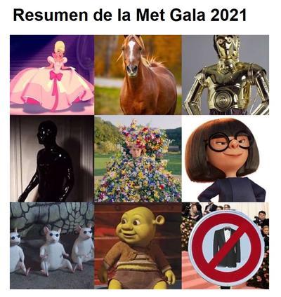 Regresa la Met Gala y los memes le dan la 'bienvenida' en redes sociales