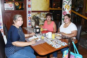 13092021 Judith Rodríguez Macías, Clementina Castro y Rosa María Olivas.