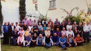 14092021 DEL RECUERDO.  Mega reunión anual de noviembre de 2019, exalumnos de la ECA y algunos maestros 1971-76.