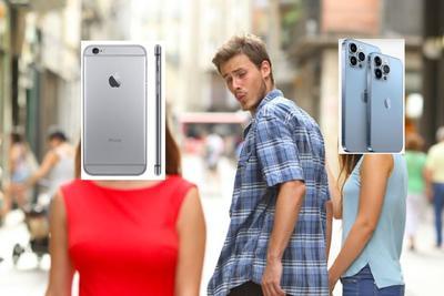 '¿Y el iOS 15?'; conmemoran con memes la llegada del iPhone 13