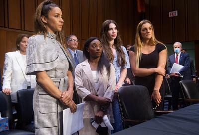 Simone Biles culpa a todo el sistema que permitió el abuso de Larry Nassar a gimnastas