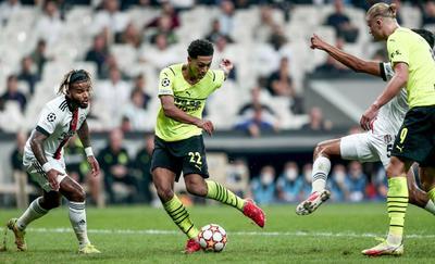 Jude Bellingham y Erling Haaland dan triunfo al Borussia Dortmund ante Besiktas