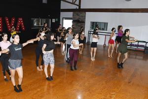 15092021 El taller se enfocó 100% al baile de salón.