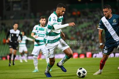 Con gol de Alessio Da Cruz, Santos Laguna rescata el empate ante Puebla.