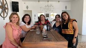20092021 Gaby Álvarez, Lorena Triana, Élida Ríos, Betty Castillo, Estivaly Hernández y Paty García.